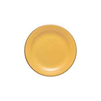 Positano Yellow Salad Plate Set/4