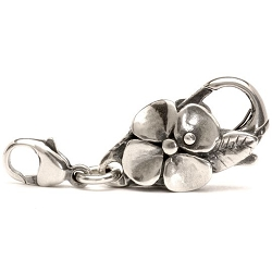 Big Flower Lock, Silver - 2 available