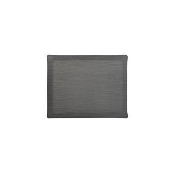 Solid Medium Rect. Tray, Pewter