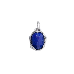Stellare Signature Stone Lapis Pendant - Retired Sale