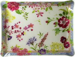 Gien Millefleurs Acrylic Tray Large, allow 2-3 weeks