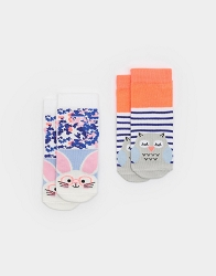 Joules Neat Feet Socks for Baby-set/2