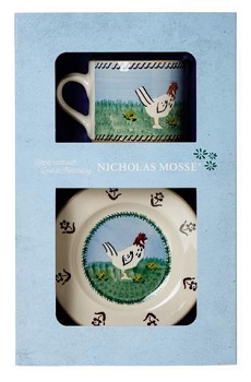 Hen Boxed Set Cup and Plate