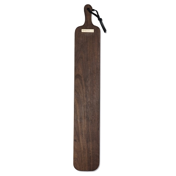 Extra-Long French Walnut Paddle Style Bread Board