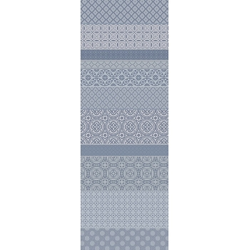 Mille Bastides Charbon Table Runner, 100% Cotton 22
