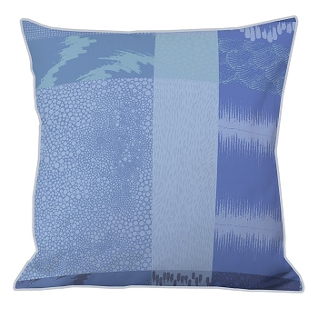 Mille Matieres Abysses Pillow Cushion Cover Set/2