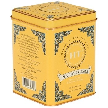 Harney and Son's Peaches and Ginger Tea