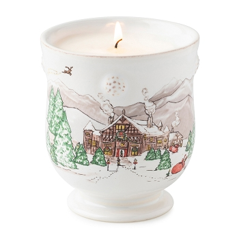 Berry and Thread  North Pole Candle