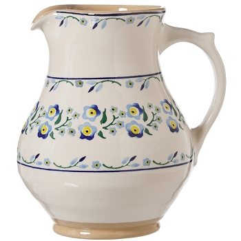Forget Me Not Large Jug