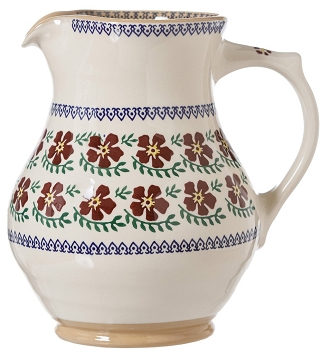 Large Jug Old Rose