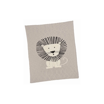 Lion Cotton Baby Blanket