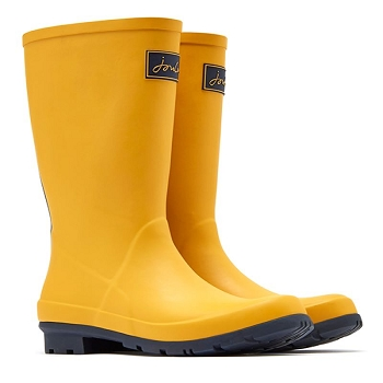 Mid-height Gold Wellies