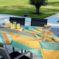 Mille Claustras Corsica Tablecloth, 100% Cotton and Coated Cotton