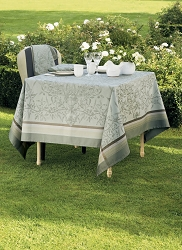 Persephone Olive Tablecloth, Green Sweet