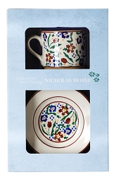 WIldflower Meadow Boxed Set Cup and Plate