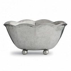 Vintage Scalloped Bowl