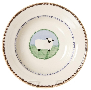Sheep Individual Pasta Bowl