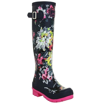 Joules French Navy Tall Wellies