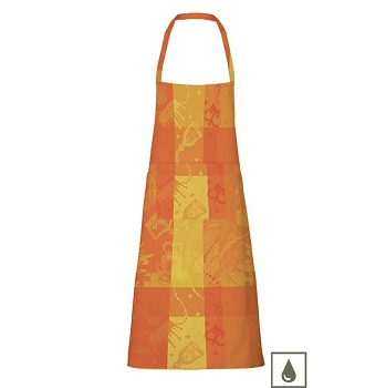 Mille Banquets Ocre Coated Apron