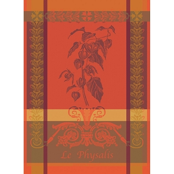 Physalis Rouille Kitchen Towel - 2 remaining