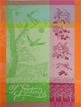 Le Printemps Vert Kitchen Towel 22