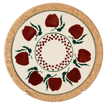 Apple Small Round Trivet