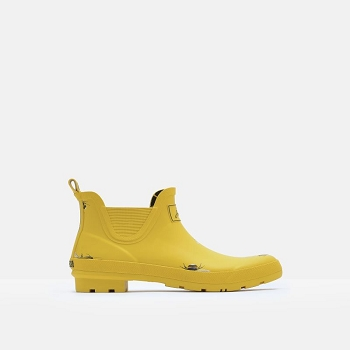 Wellibob-Ankle Height Gold Bee