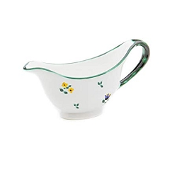 Alpine Flowers Sauce Boat Only