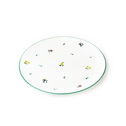Alpine Flowers Coupe Platter/Charger 12.6