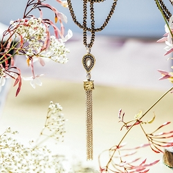 Amity Tassel Favorite Muse Necklace