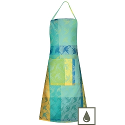 Mille Colibris Maldives Apron 30 X 33 Coated