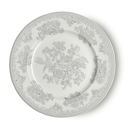 Dove Grey Asiatic Pheasant Dinner Plate 10