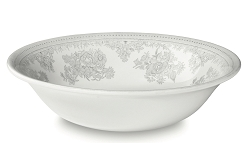 Dove Grey Asiatic Pheasant Pudding/Soup Bowl - special order