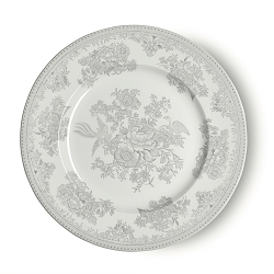 Dove Grey Asiatic Pheasant Dessert Plate 7