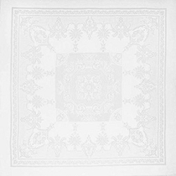 Beauregard White Napkin 22