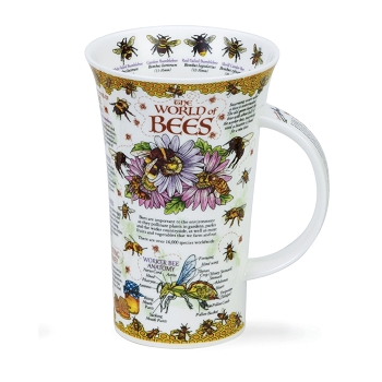 Glen World of Bees Mug 16.9 oz
