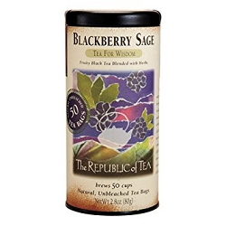 Blackberry Sage Tea - 50 Tea Bags