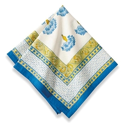 Bleuet Napkins, Set of 6 -on backorder