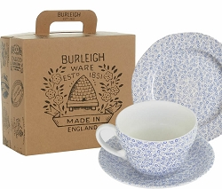 Blue Felicity Breakfast Cup Gift Set