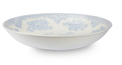 Blue Asiatic Pheasant Pasta Bowl Covered-on back order 8+ weeks
