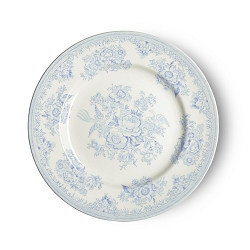 Blue Asiatic Pheasant Lunch Plate 9