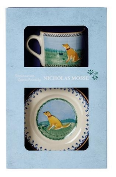 Dog Boxed Set Cup and Plate