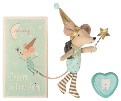 Tooth Fairy Big Brother Mouse with Metal Box NEW