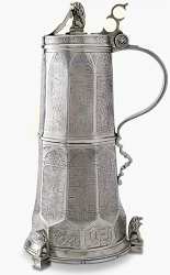 Engraved Beer Stein currently out of stock, can be special ordered.