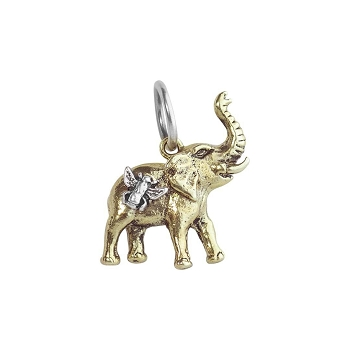Bee Saved Elephant Charm