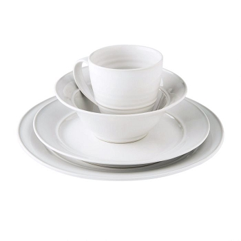 Cavendish Dove Cereal Bowl Place Setting