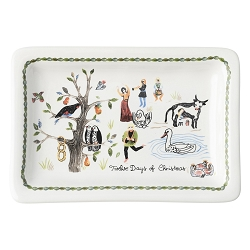 Twelve Days of Christmas Trinket Tray