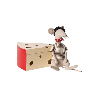 Rat in Cheese Box