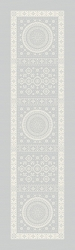 Imperatrice Argent Table Runner 21