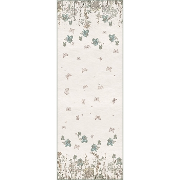 Jardin Des Fees Table Runner, Washed Linen